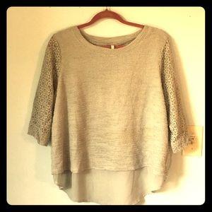 Lauren Conrad LC XL Layered Shirt Gorgeous!